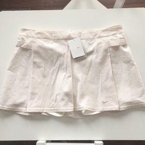NWT Nike tennis skirt/skort. Size 12